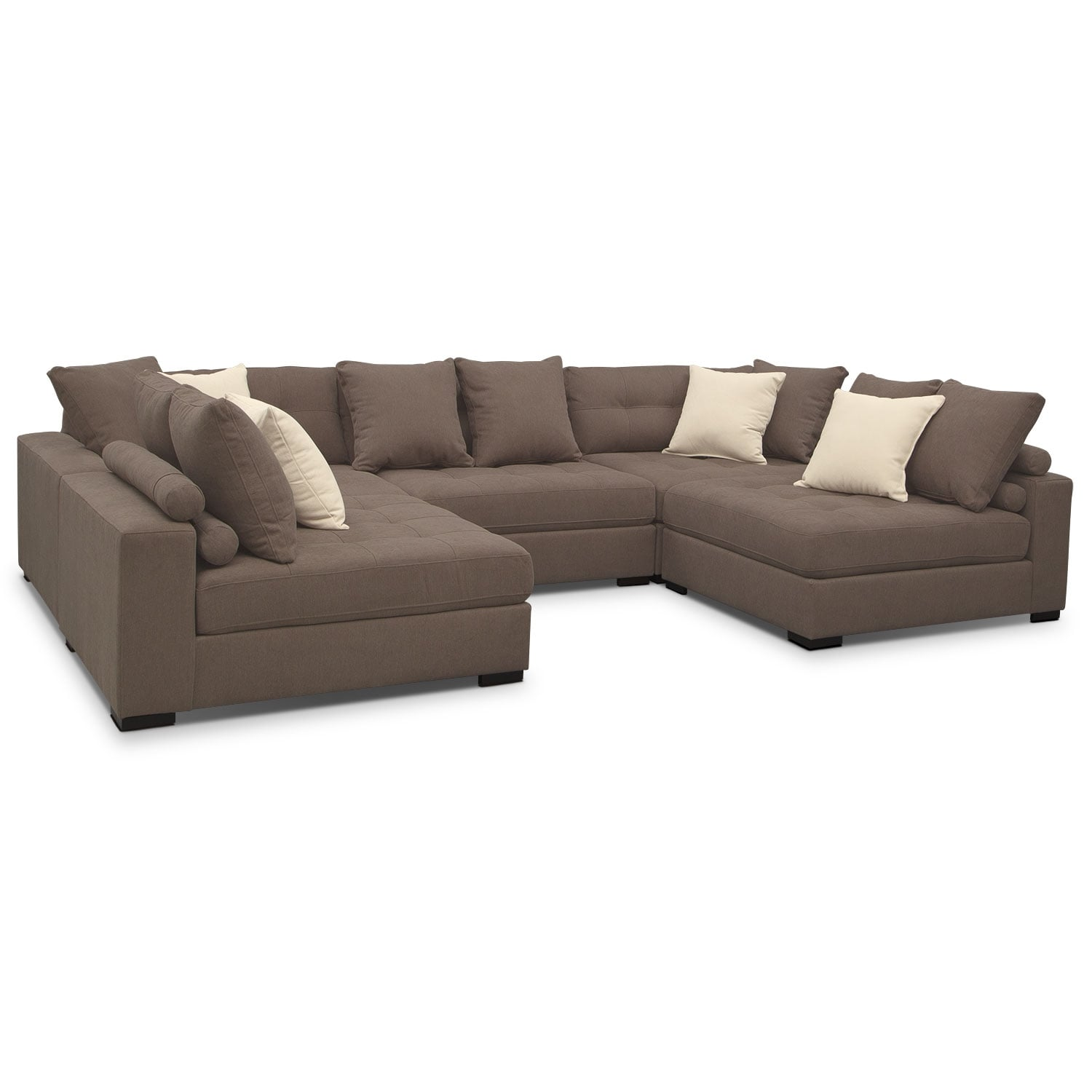 Venti 5-Piece Sectional - Mocha