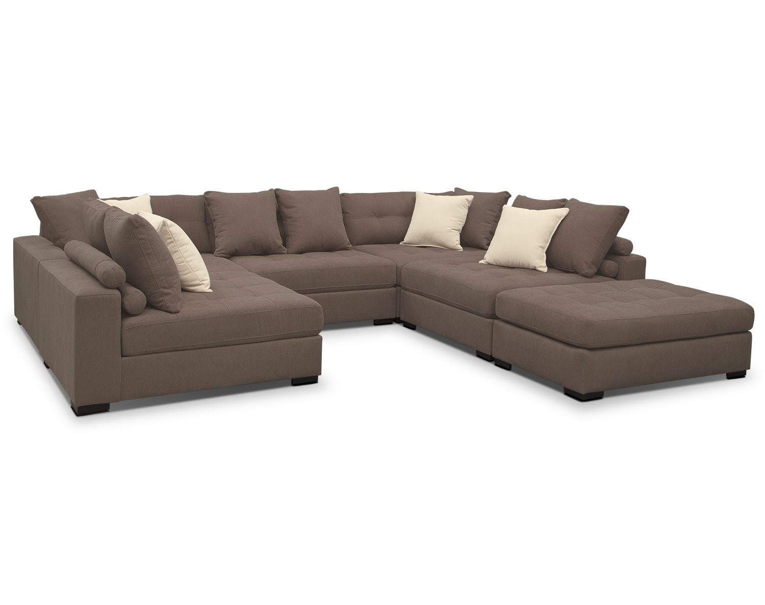 The Venti Mocha Sectional Collection