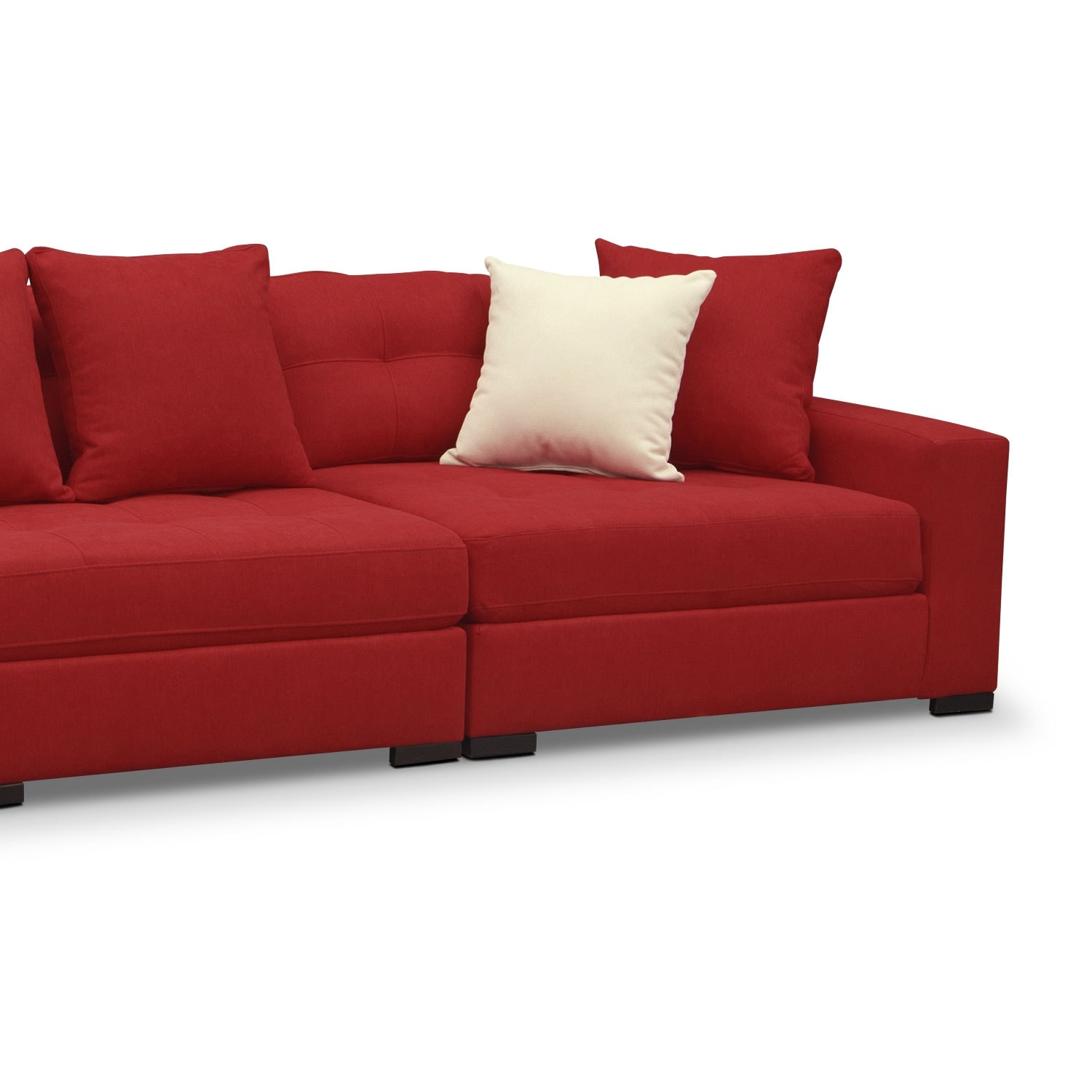 American Signature Furniture Red Sectional