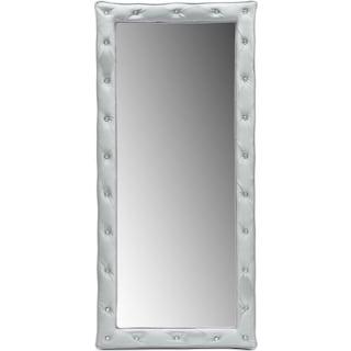 Valerie Floor Mirror - Silver