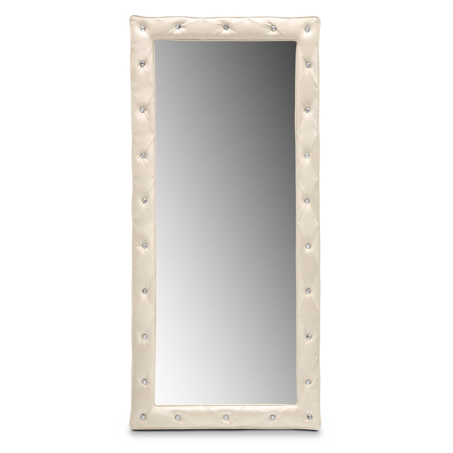 Kids Furniture - Valerie Floor Mirror - Pearl