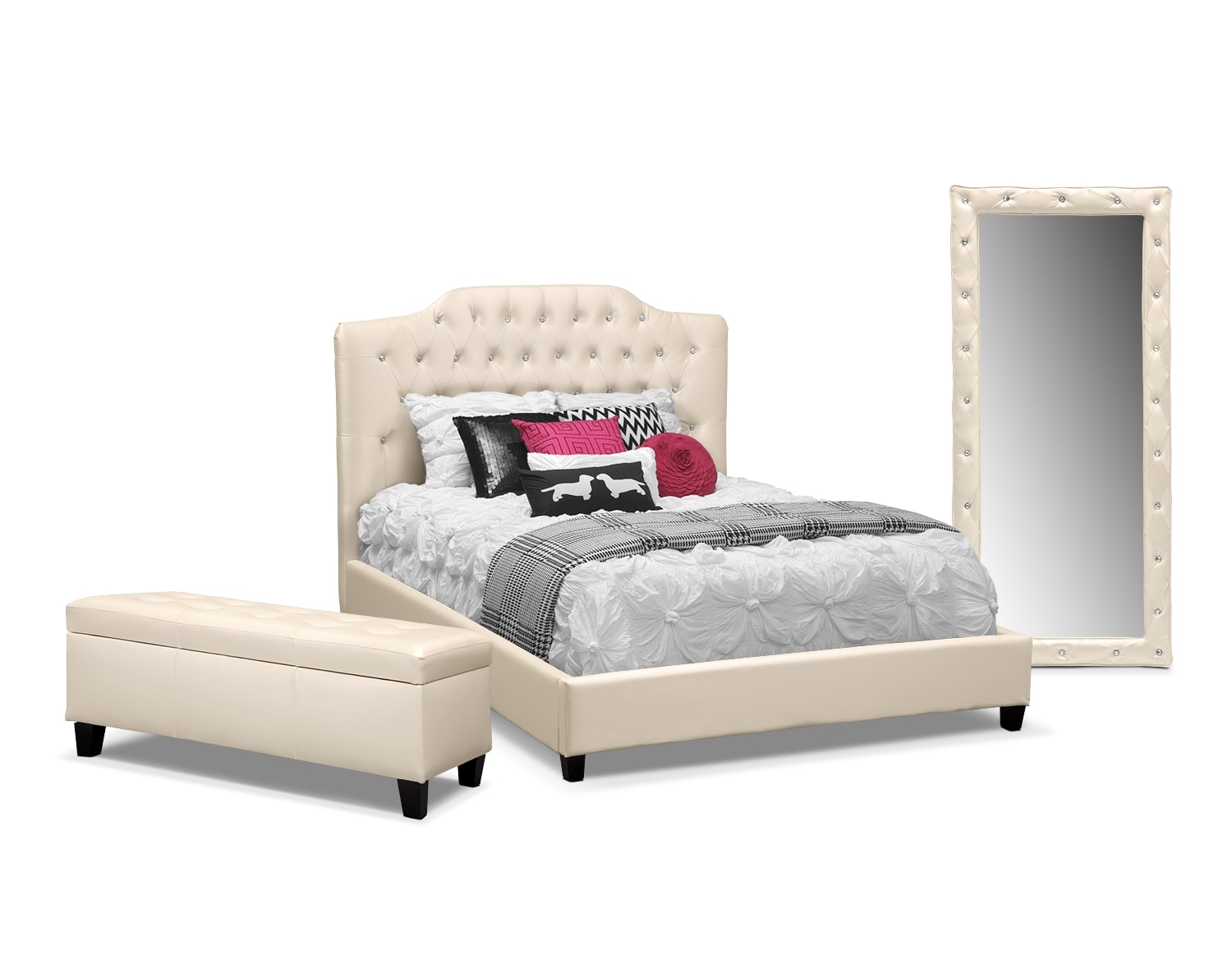 The Valerie Pearl Bedroom Collection