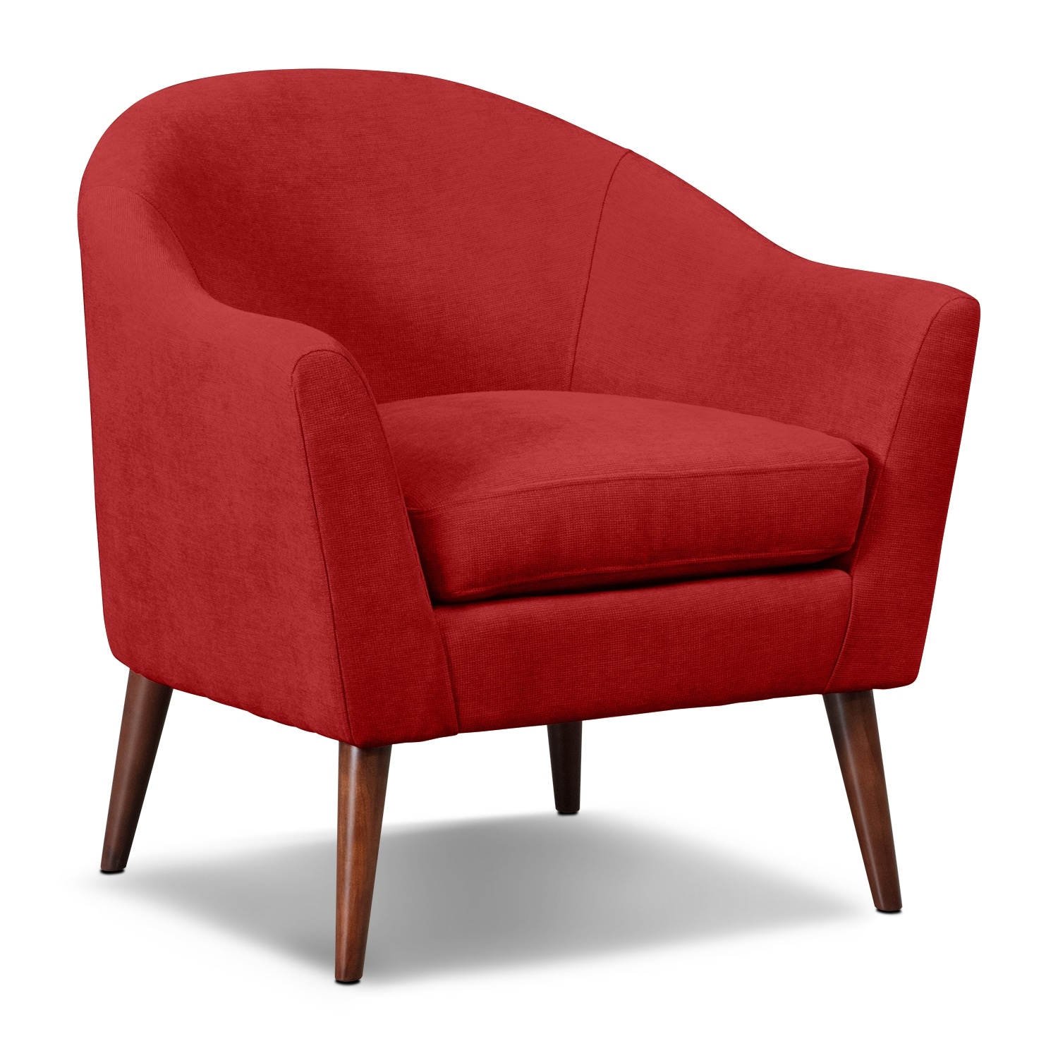Rosa Accent Chair - Red