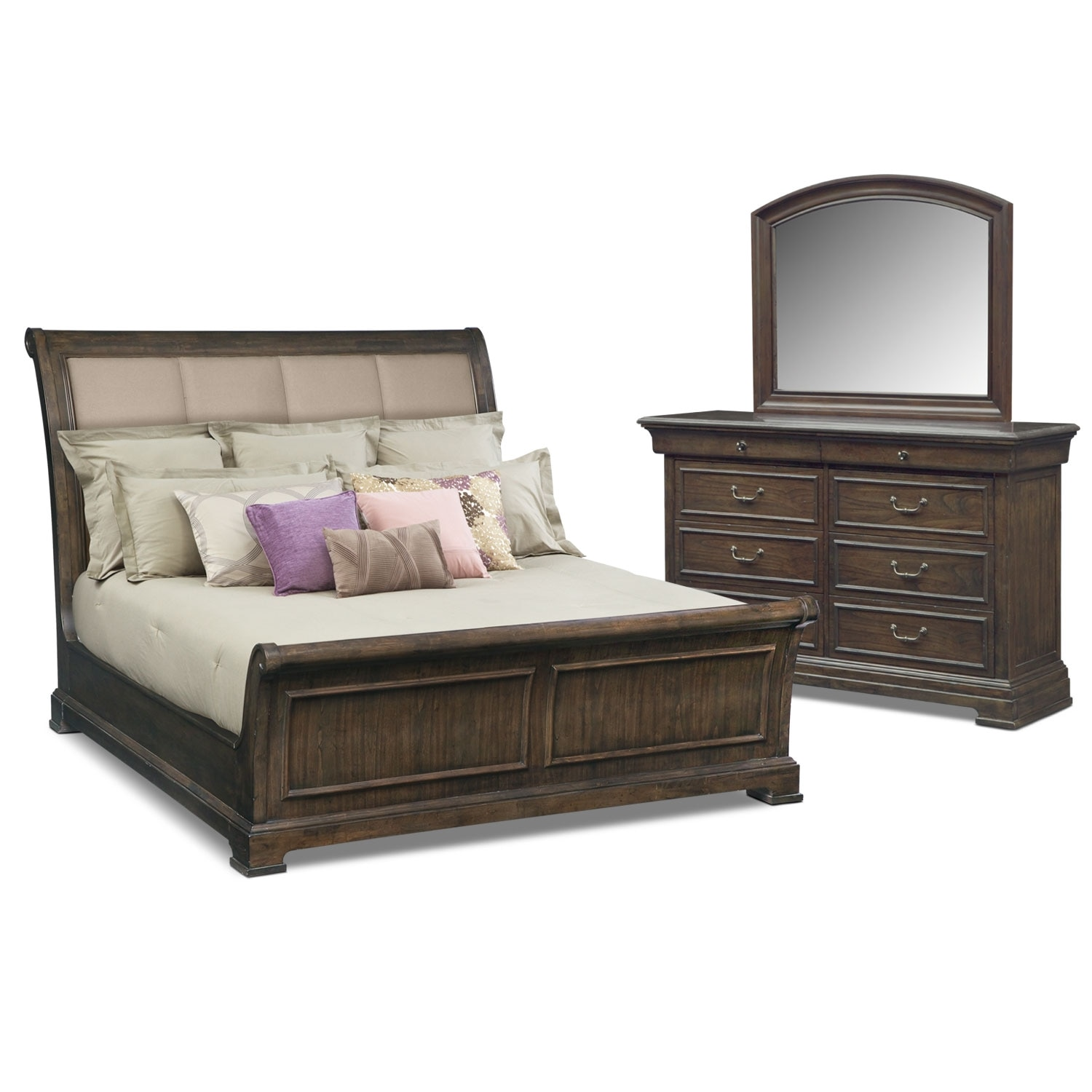 Shop 5 Piece Bedroom Sets American Signature Furniture