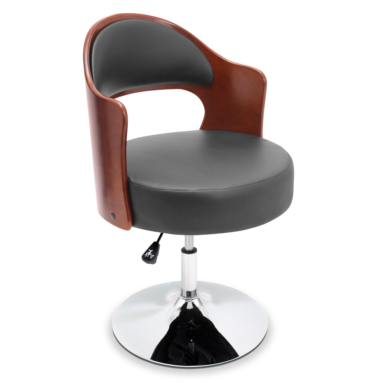 Living Room Furniture - Park Accent Chair - Black