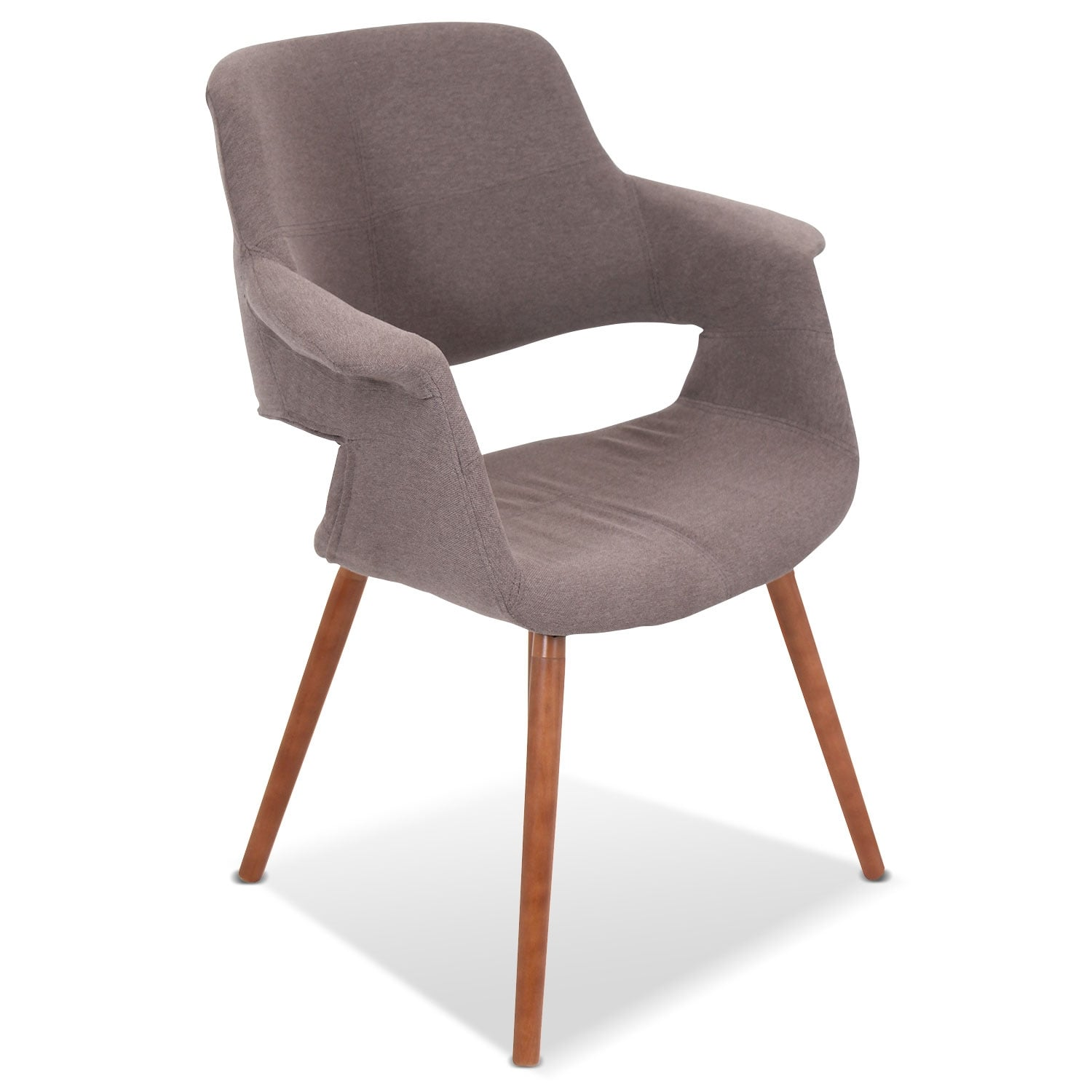 Solo Accent Chair - Brown