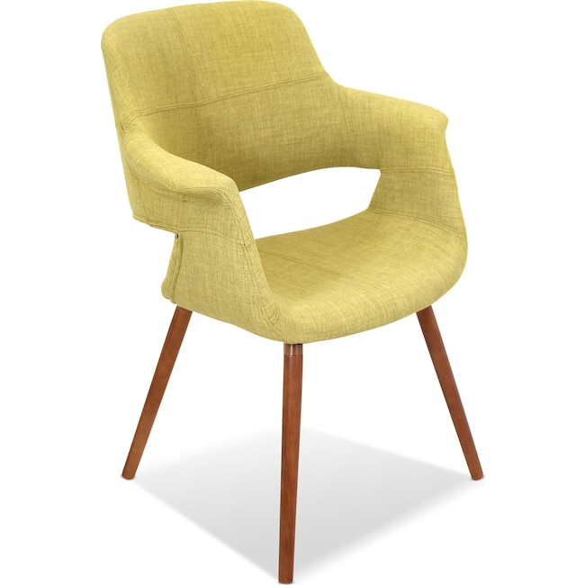 Accent and Occasional Furniture - Solo Accent Chair - Green