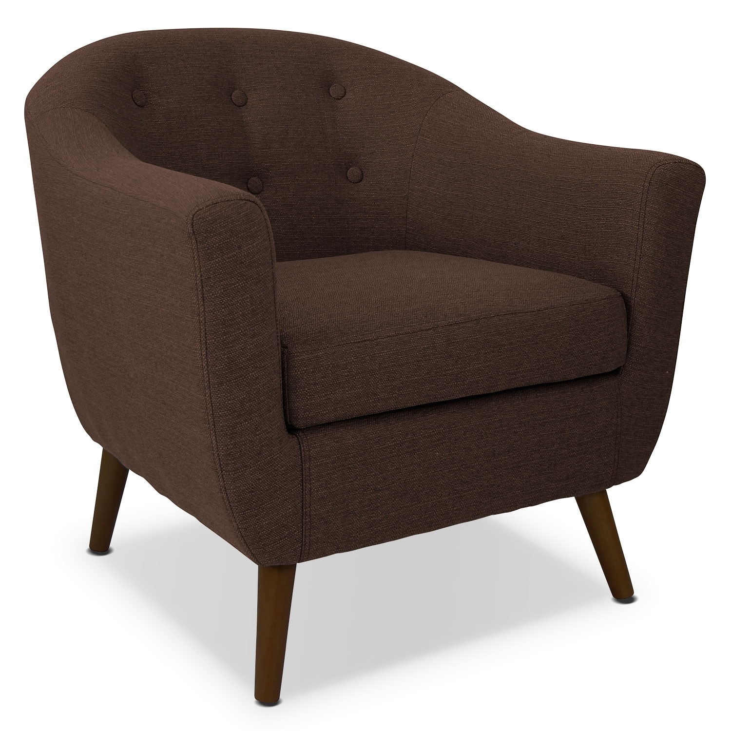 Norman Accent Chair - Espresso