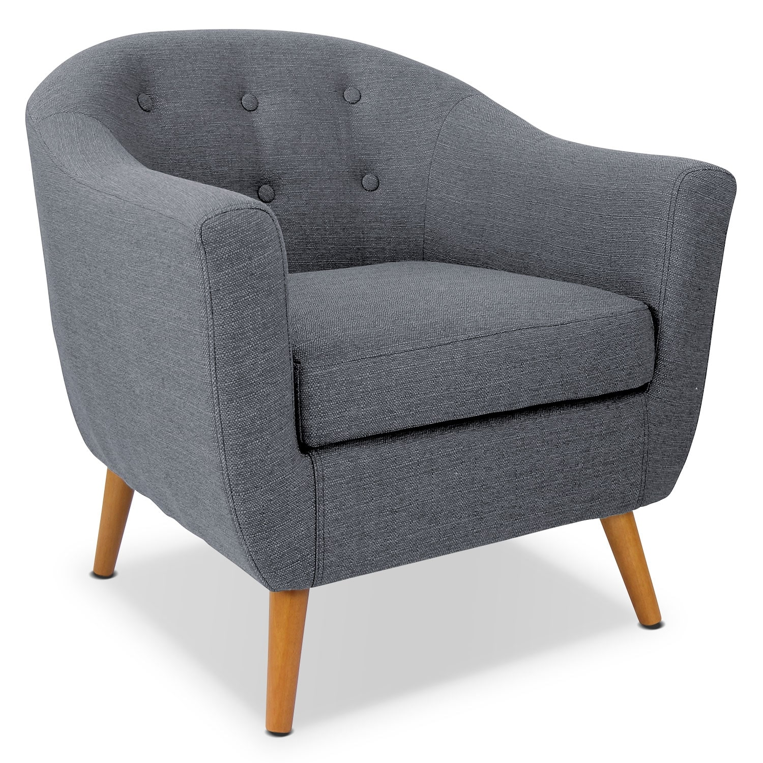 Norman Accent Chair - Gray