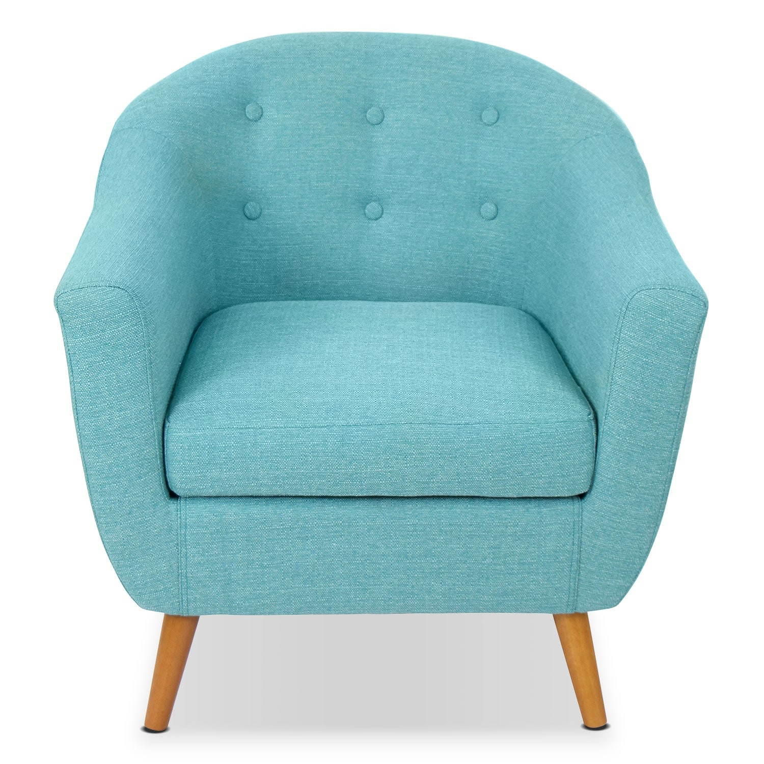new teal accent chairs