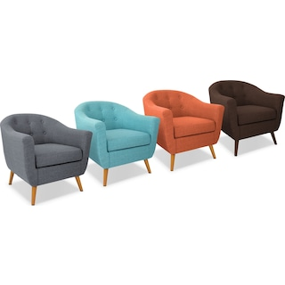 The Norman Accent Chair Collection
