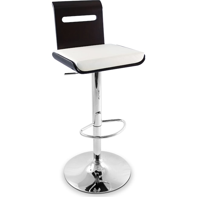 Accent and Occasional Furniture - Domato Adjustable Barstool - White