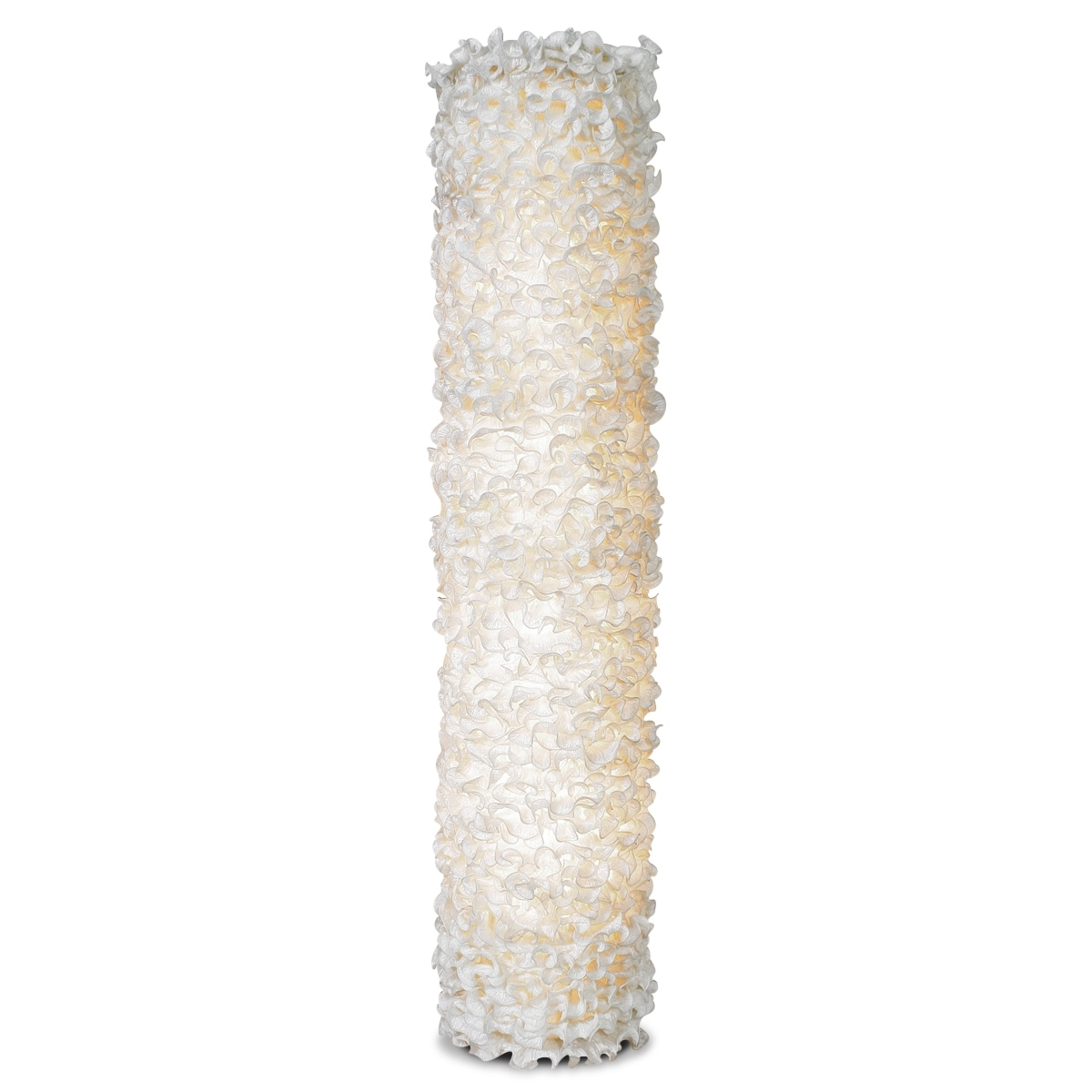 Home Accessories - Lace Tower Floor Lamp