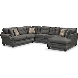 Cordelle 3-Piece Sectional - Gray