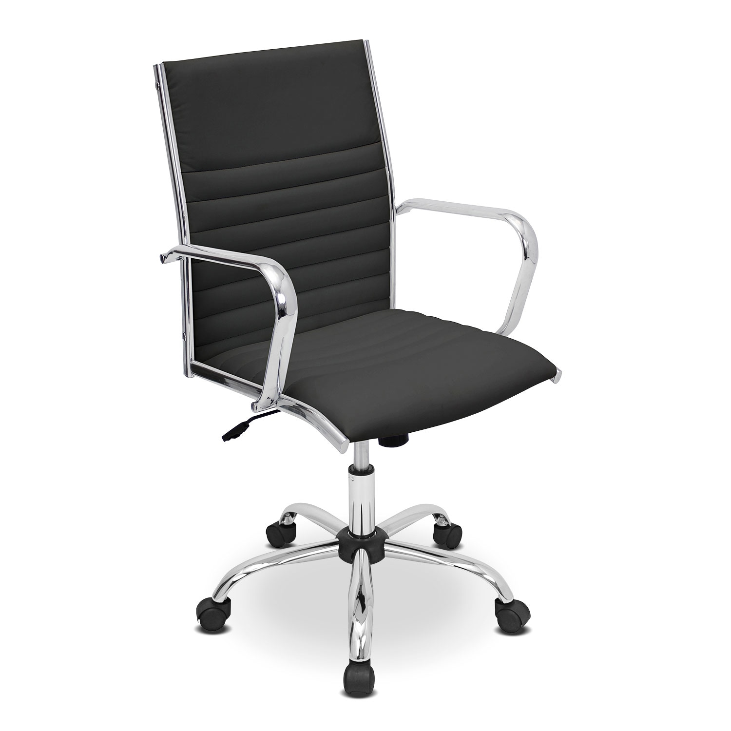 Home Office Furniture - Director Office Arm Chair - Black