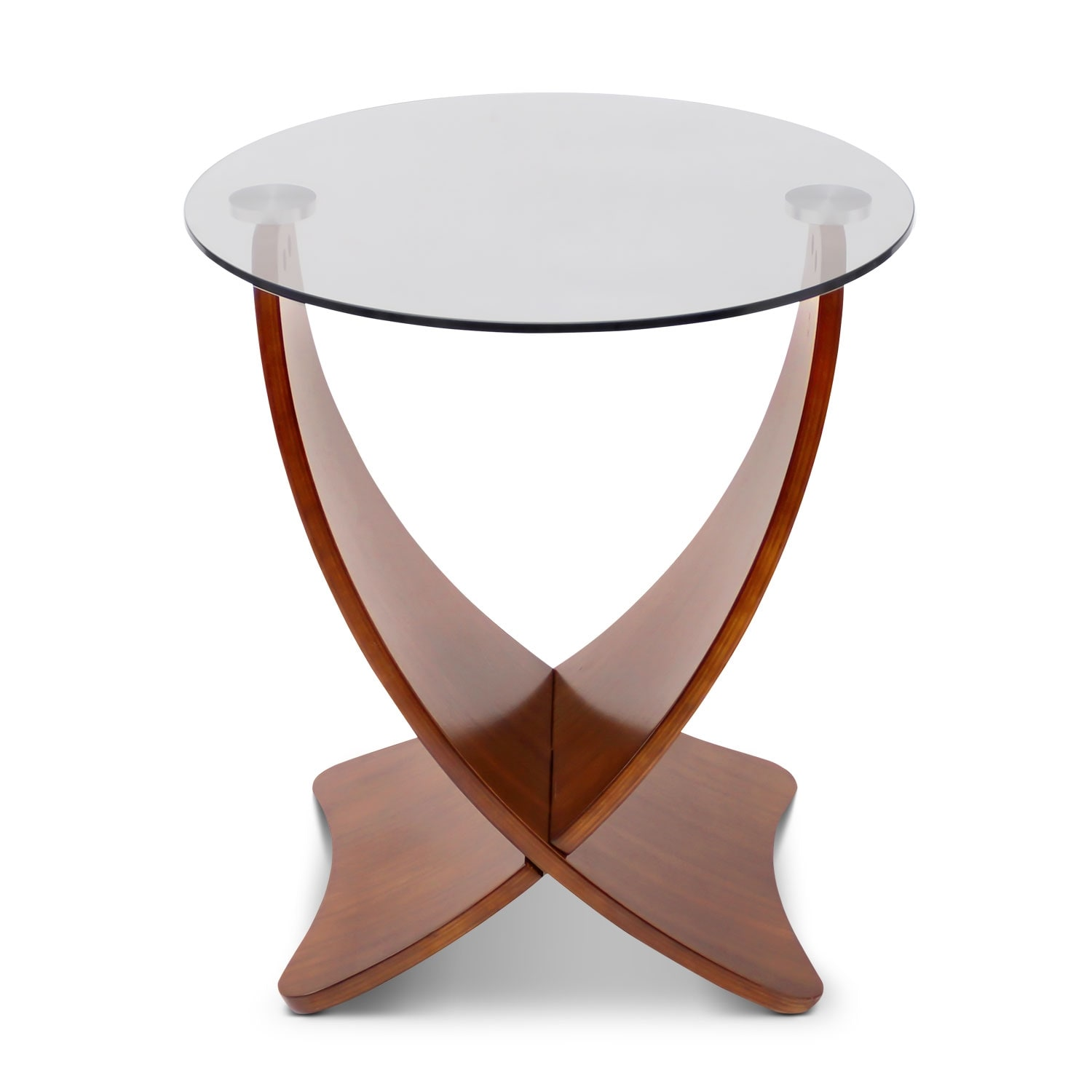 Accent and Occasional Furniture - Convex End Table