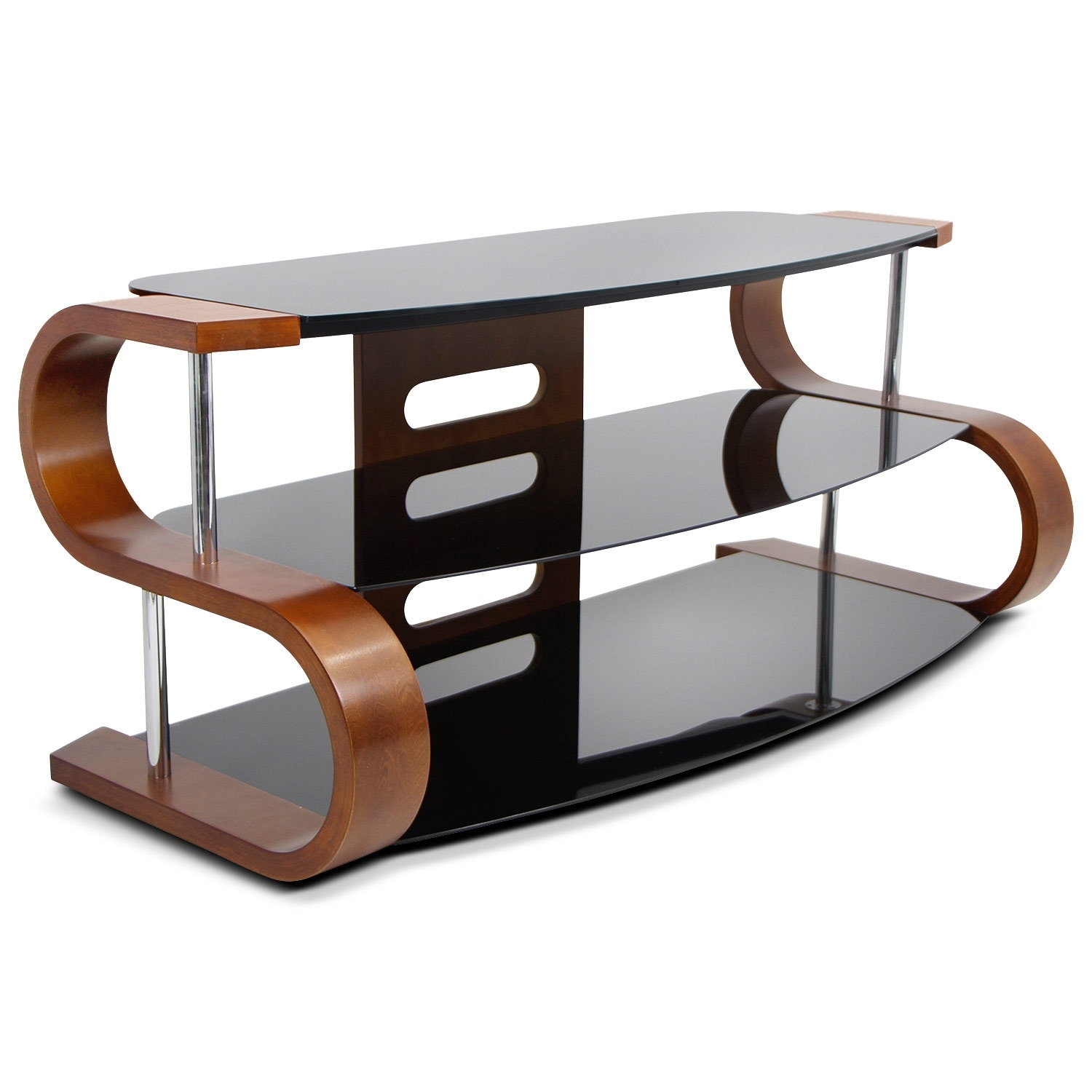 Entertainment Furniture - Beacon TV Stand - Walnut