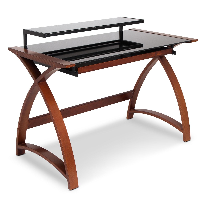 Amber Desk - Brown