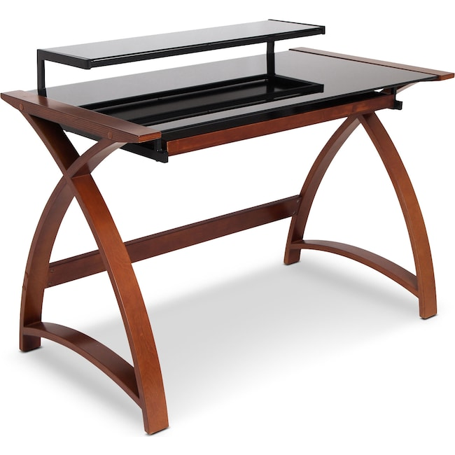 Home Office Furniture - Amber Desk - Brown