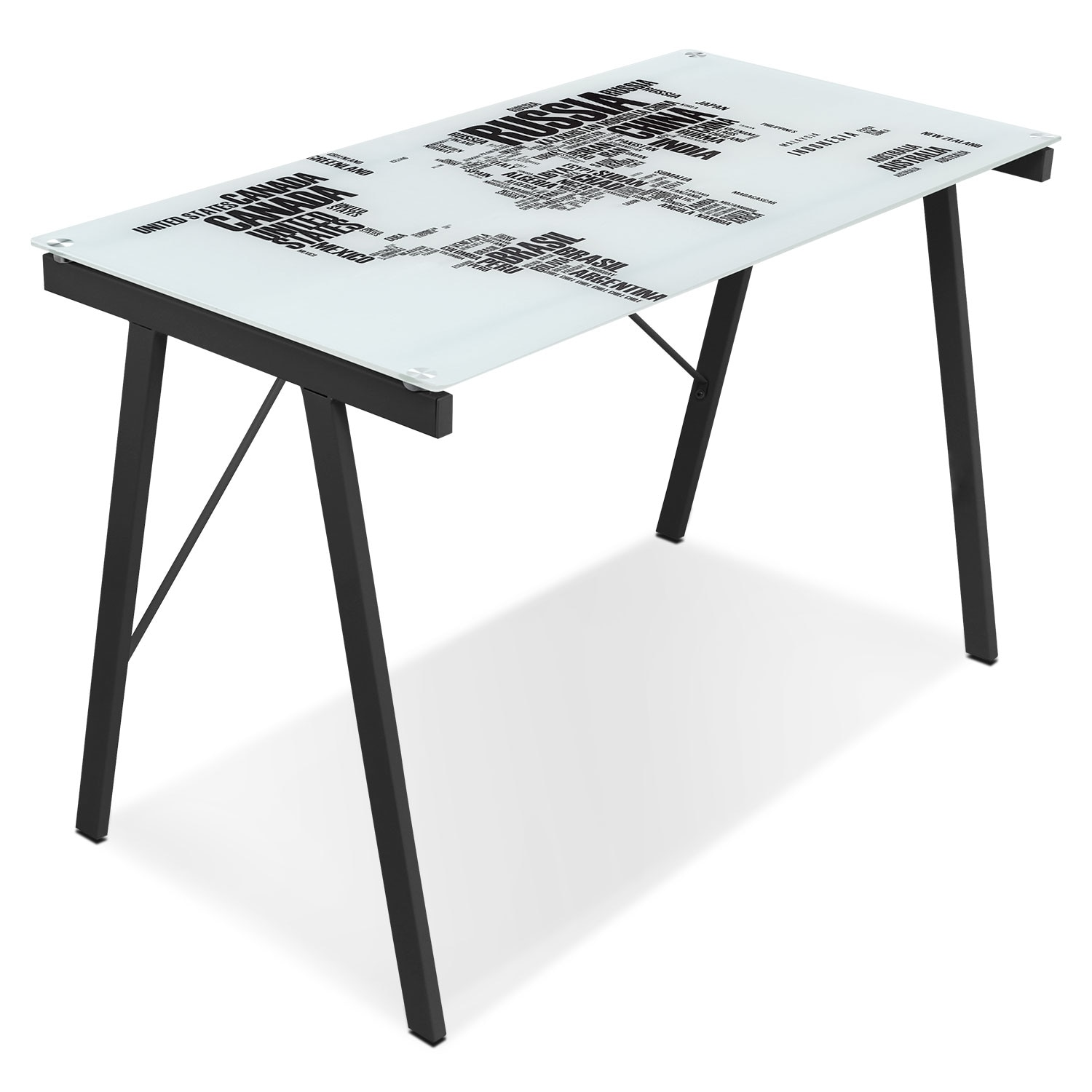 Home Office Furniture - Continent Desk - Multi