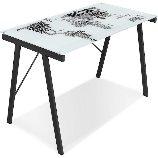 Home Office Furniture - Continent Desk - Multi