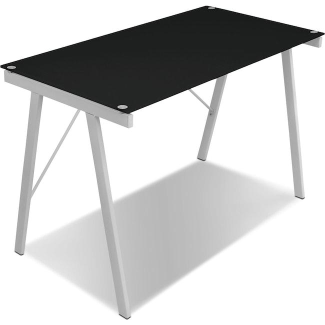 Home Office Furniture - Zone Desk - Black