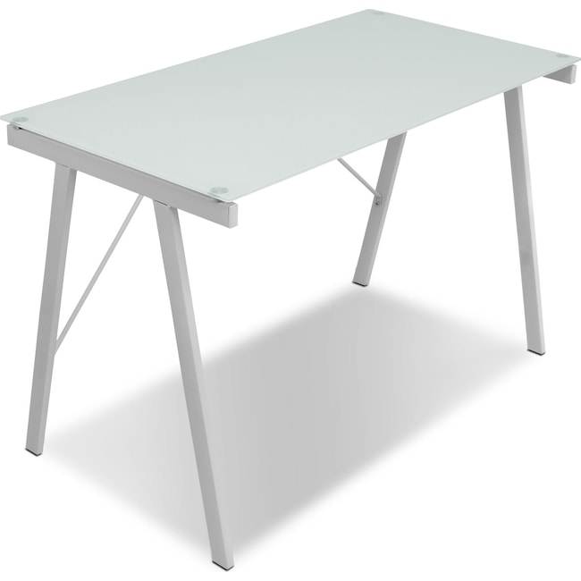 Home Office Furniture - Zone Desk - White