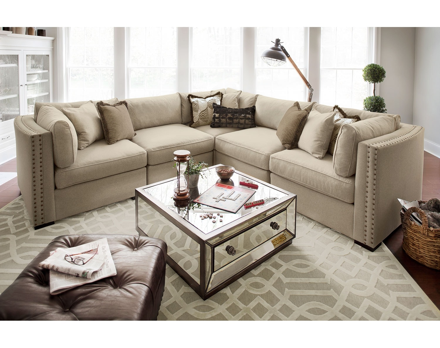 The Athens Collection - Taupe