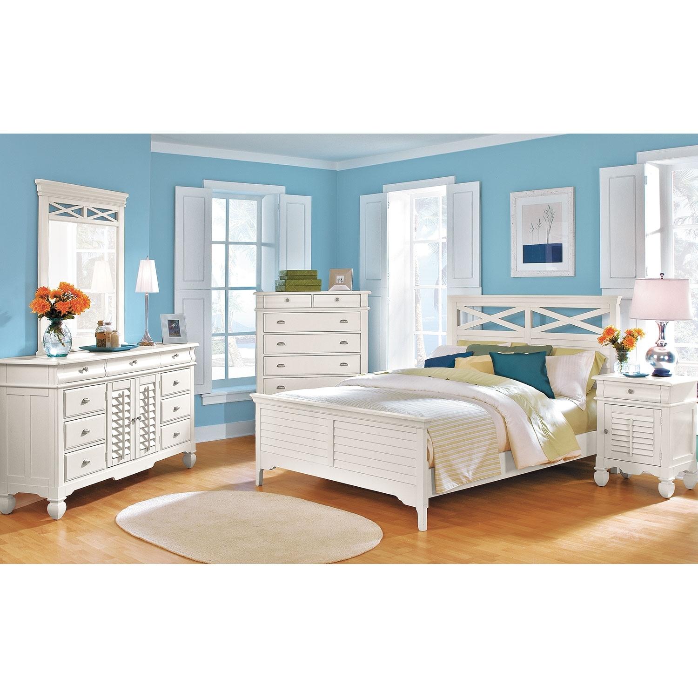 Plantation Bedroom Furniture Plantation Cove Chest White American Signature Furniture