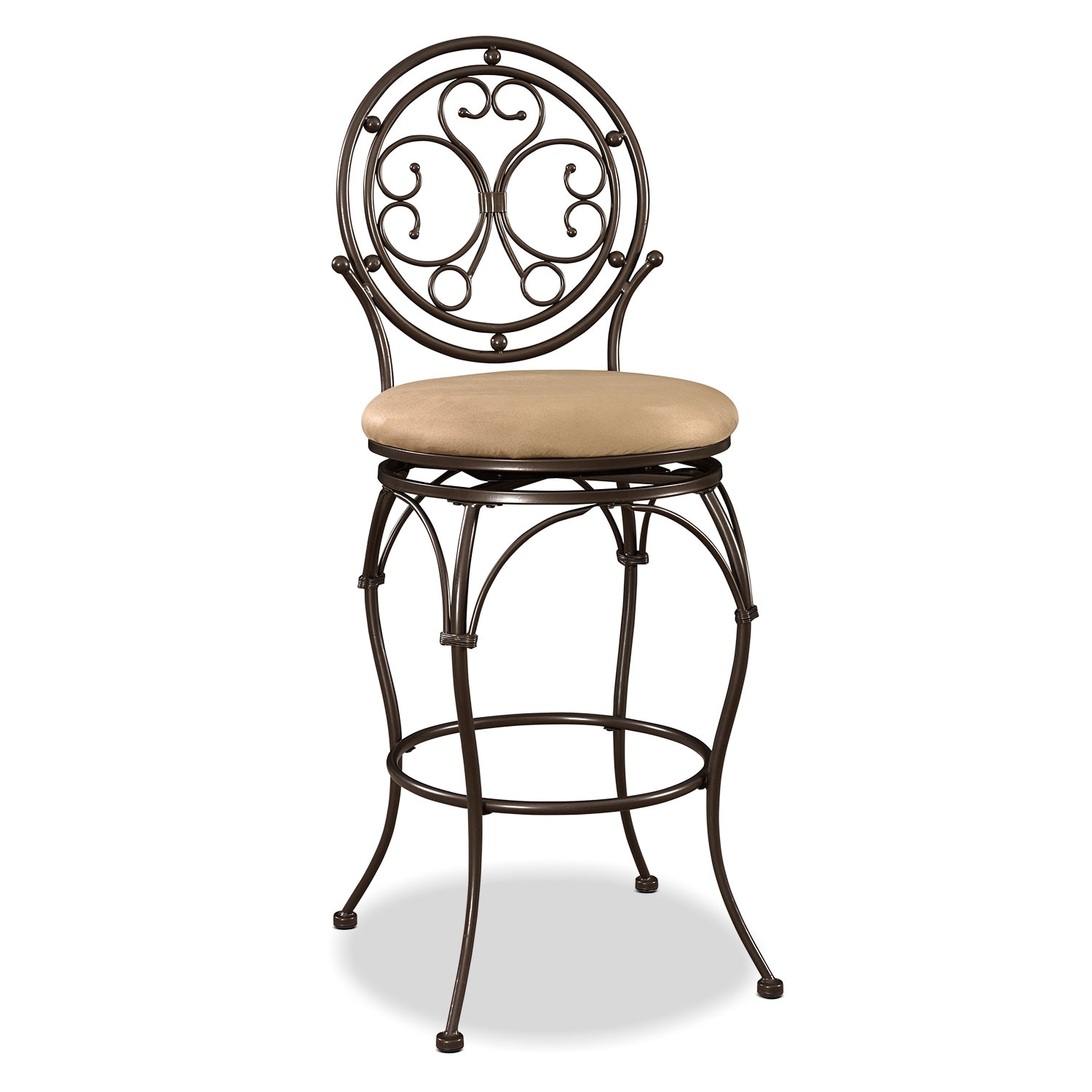Accent and Occasional Furniture - Laurel Bar Stool - Bronze