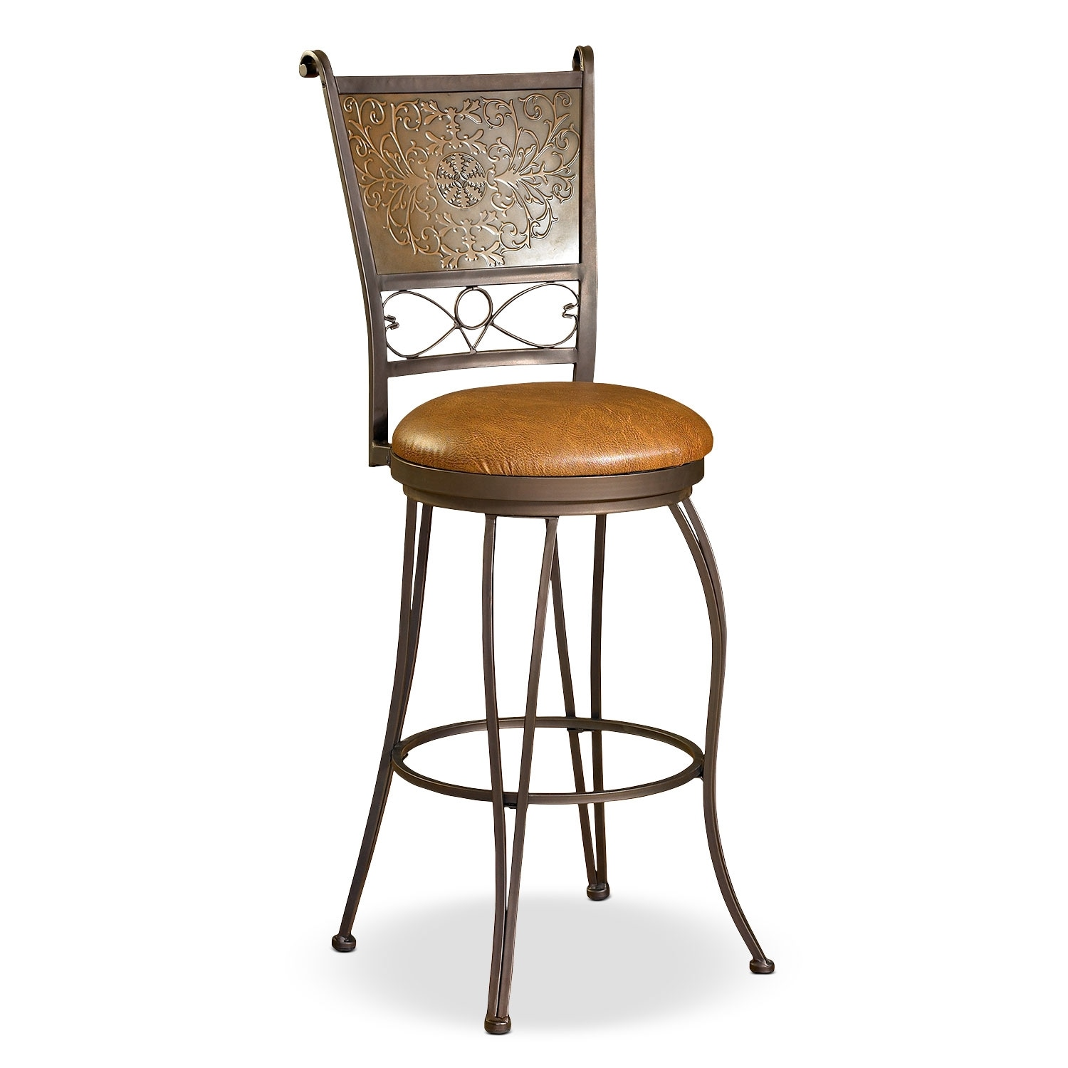 Accent and Occasional Furniture - Darby Bar Stool - Brown