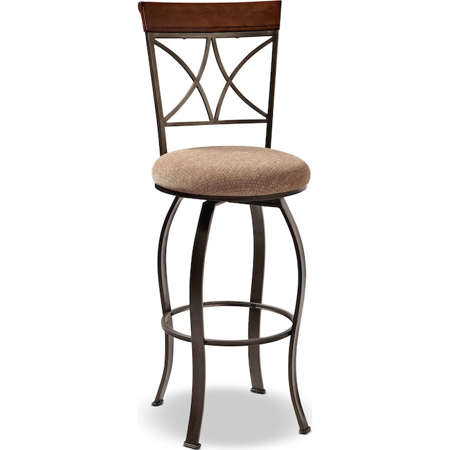 Dining Room Furniture - Rosedale Barstool - Medium Cherry