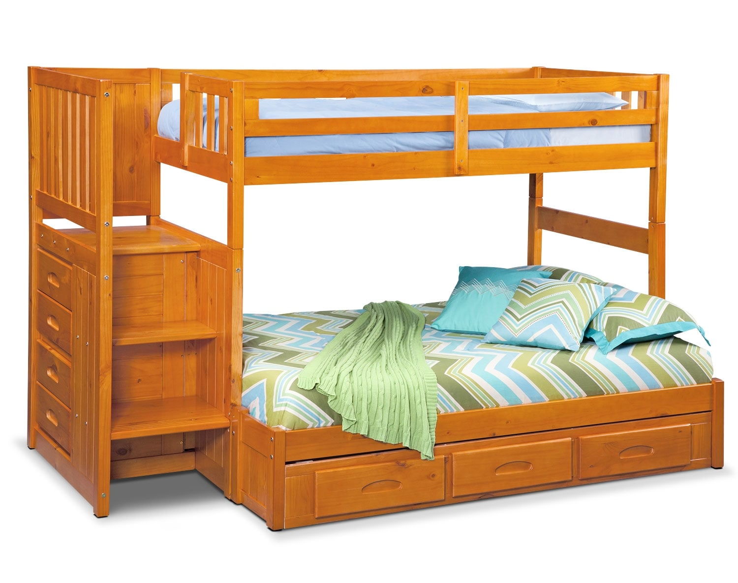 The Ranger Pine Bunk Bed Collection