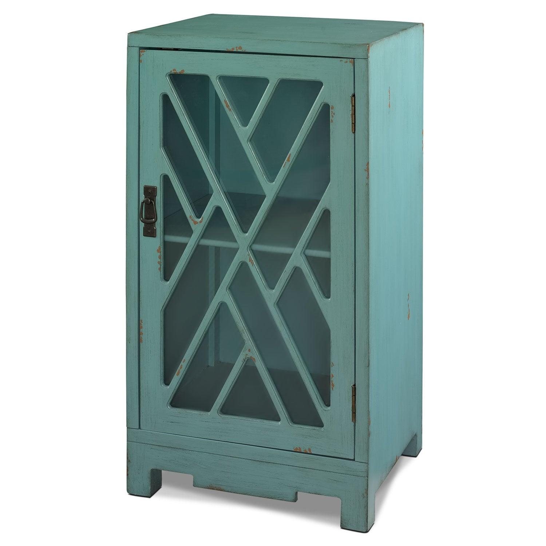 Tia Side Table - Blue