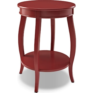 Sydney Accent Table - Red