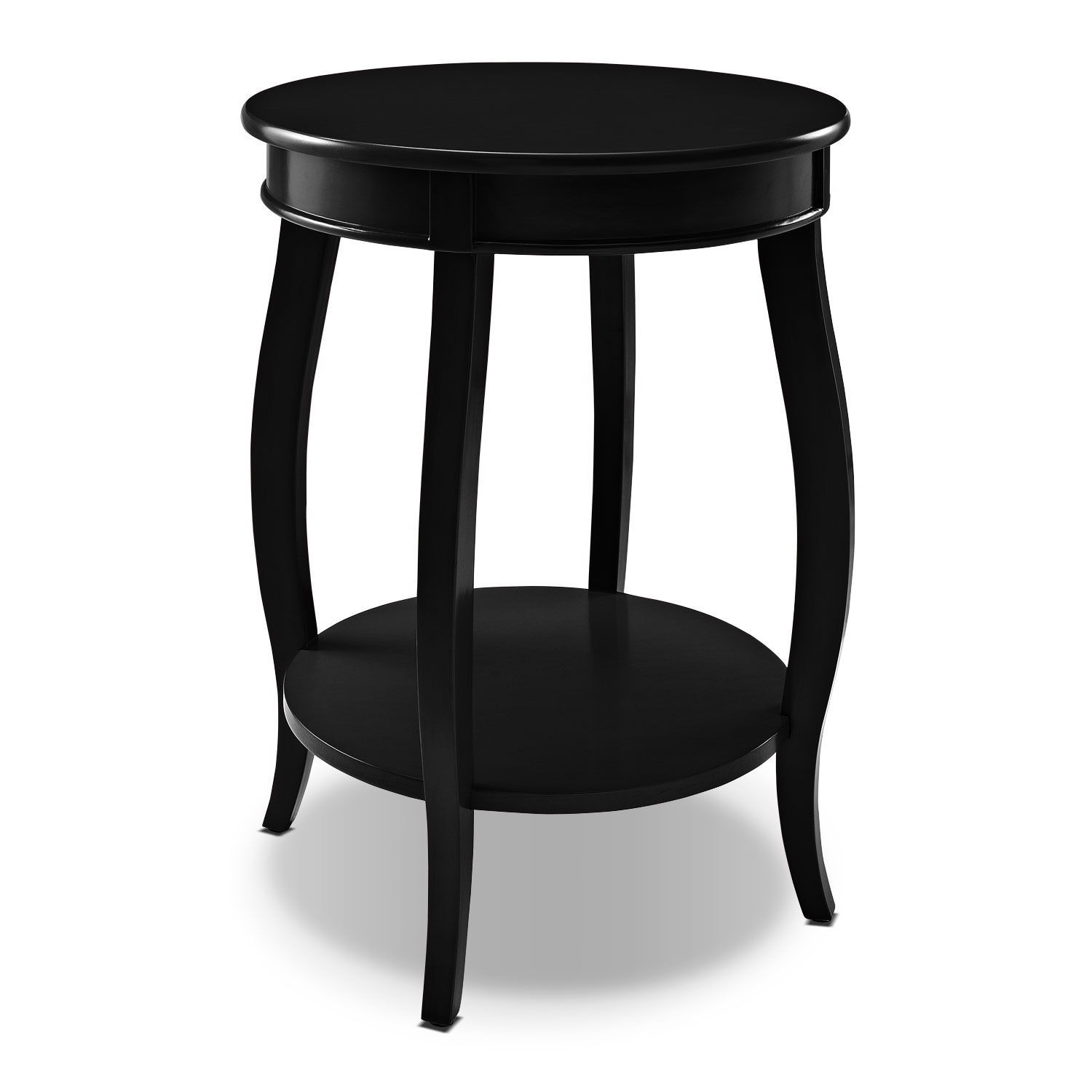 Accent and Occasional Furniture - Sydney Accent Table - Black