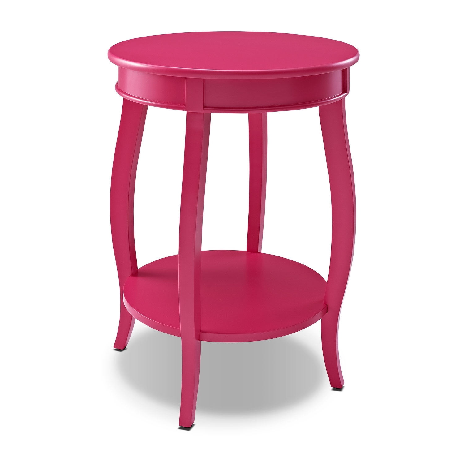 Accent and Occasional Furniture - Sydney Accent Table - Pink
