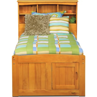 Ranger Bookcase Bed with 6 Underbed Drawers
