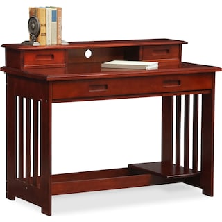 Ranger Desk with Hutch