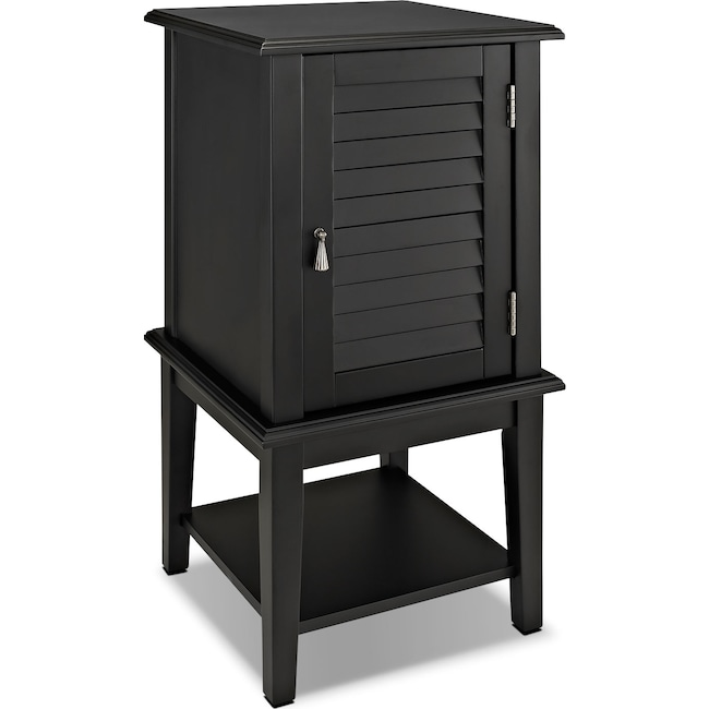 Accent and Occasional Furniture - Tulsa Side Table - Black