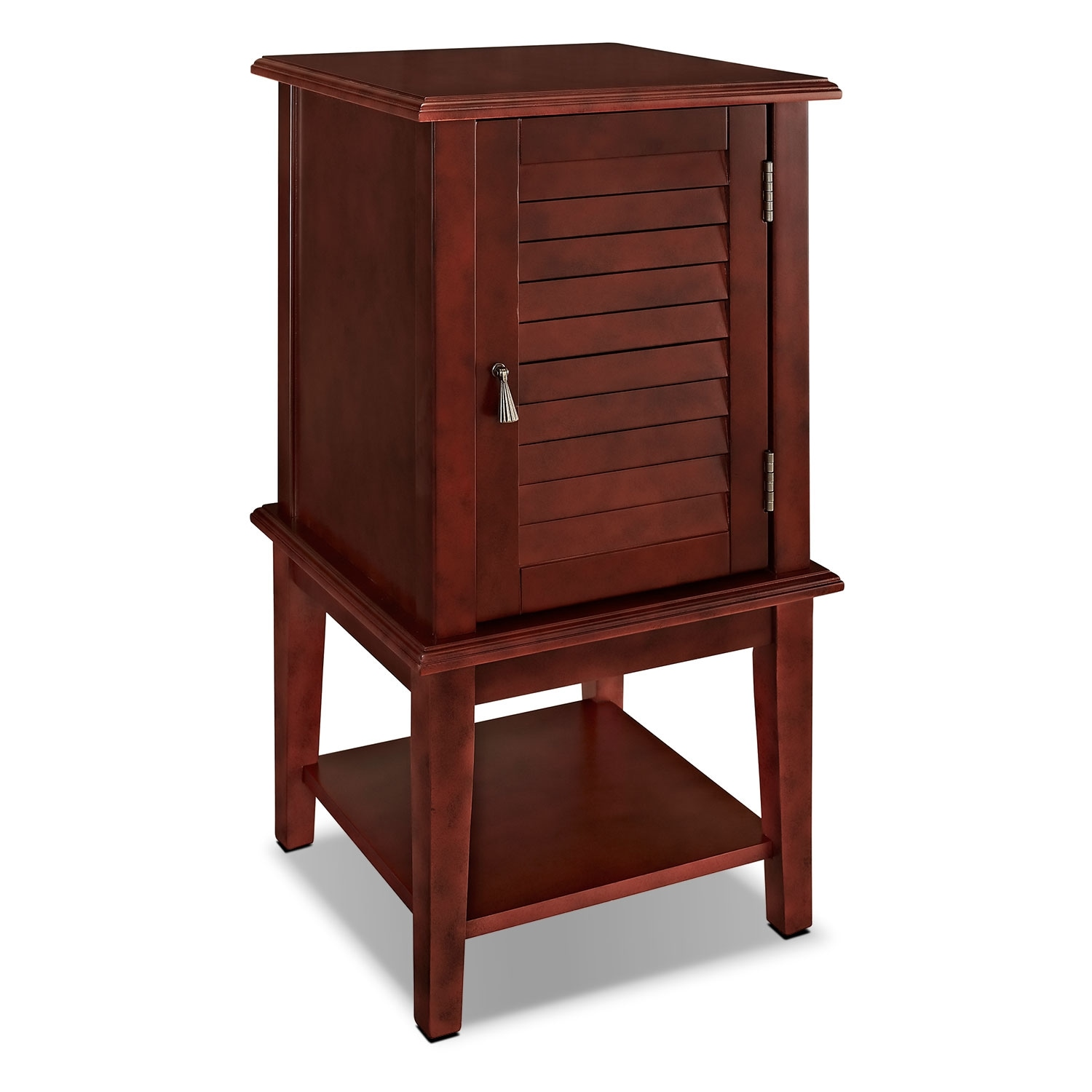 Accent And Occasional Furniture   Tulsa Side Table   Red