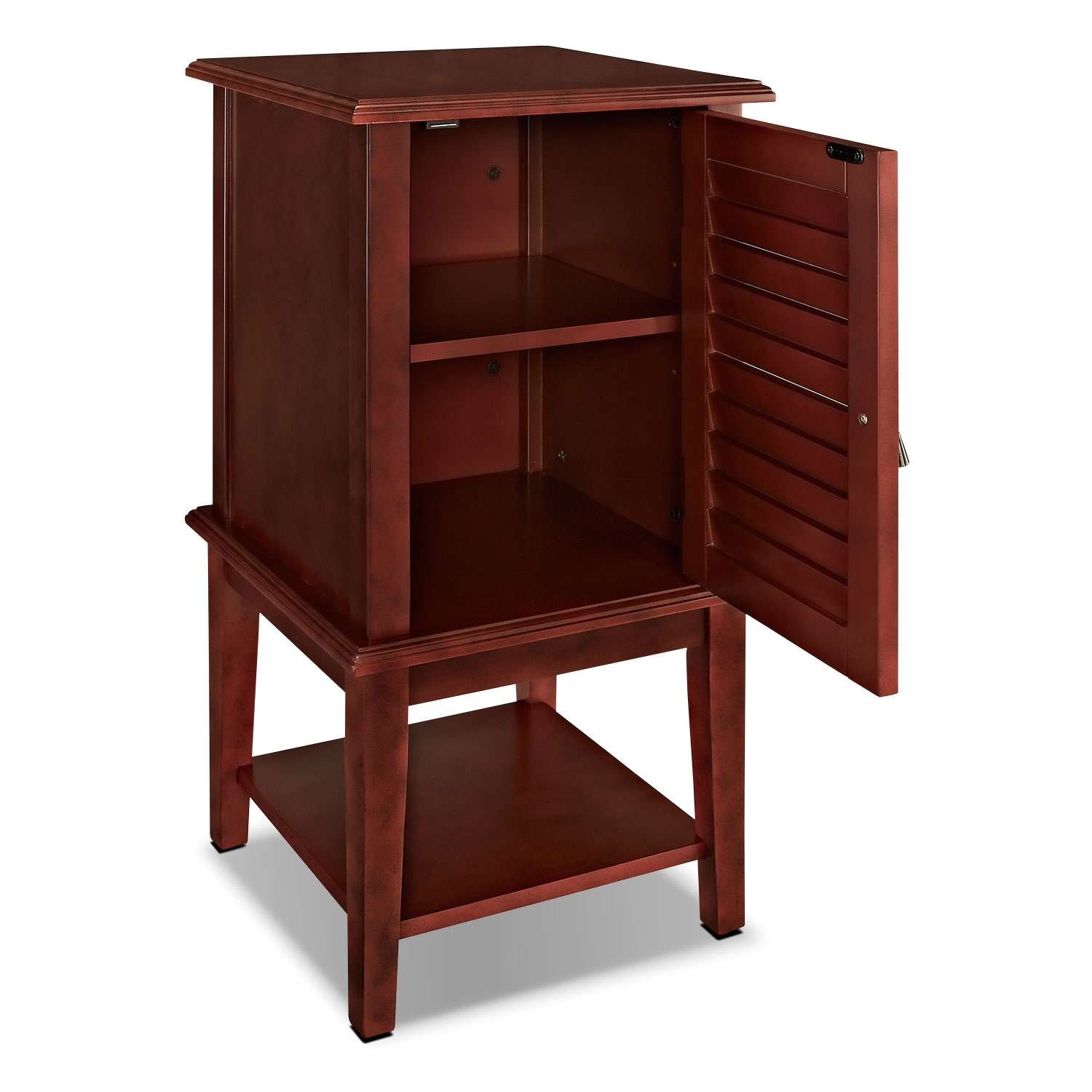 Tulsa Side Table Red American Signature Furniture