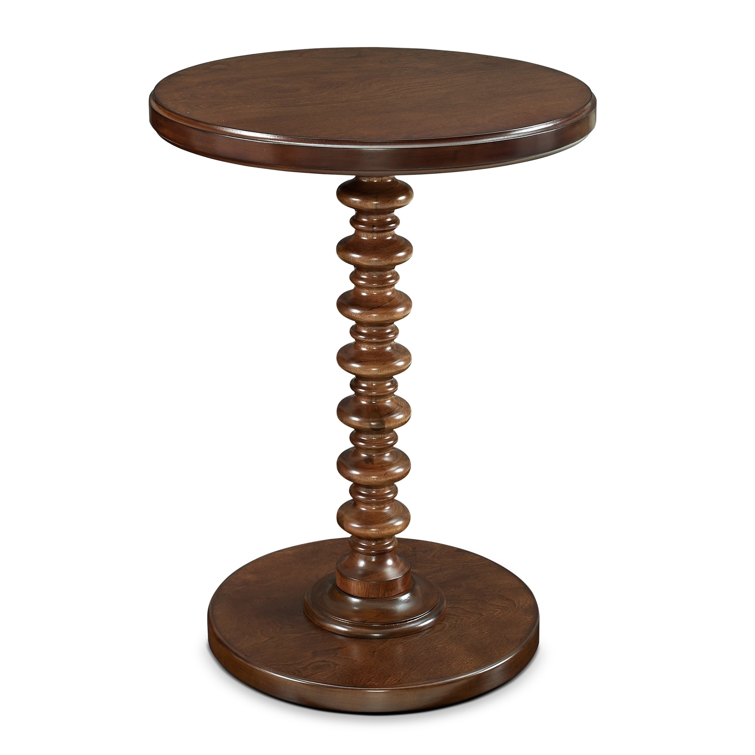 Accent and Occasional Furniture - Kobi Accent Table - Hazelnut