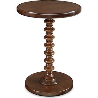 Kobi Accent Table - Hazelnut