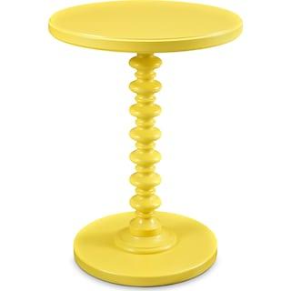Kobi Accent Table - Yellow
