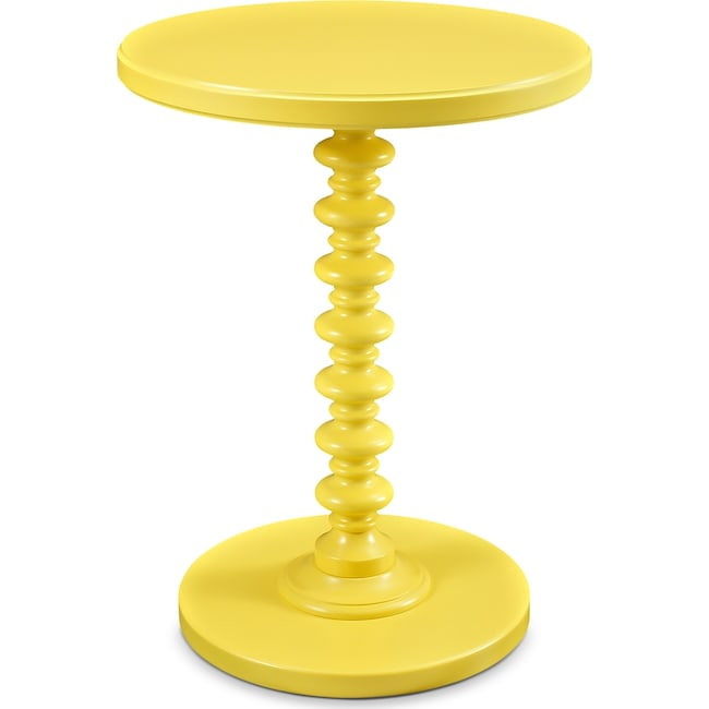 Accent and Occasional Furniture - Kobi Accent Table - Yellow