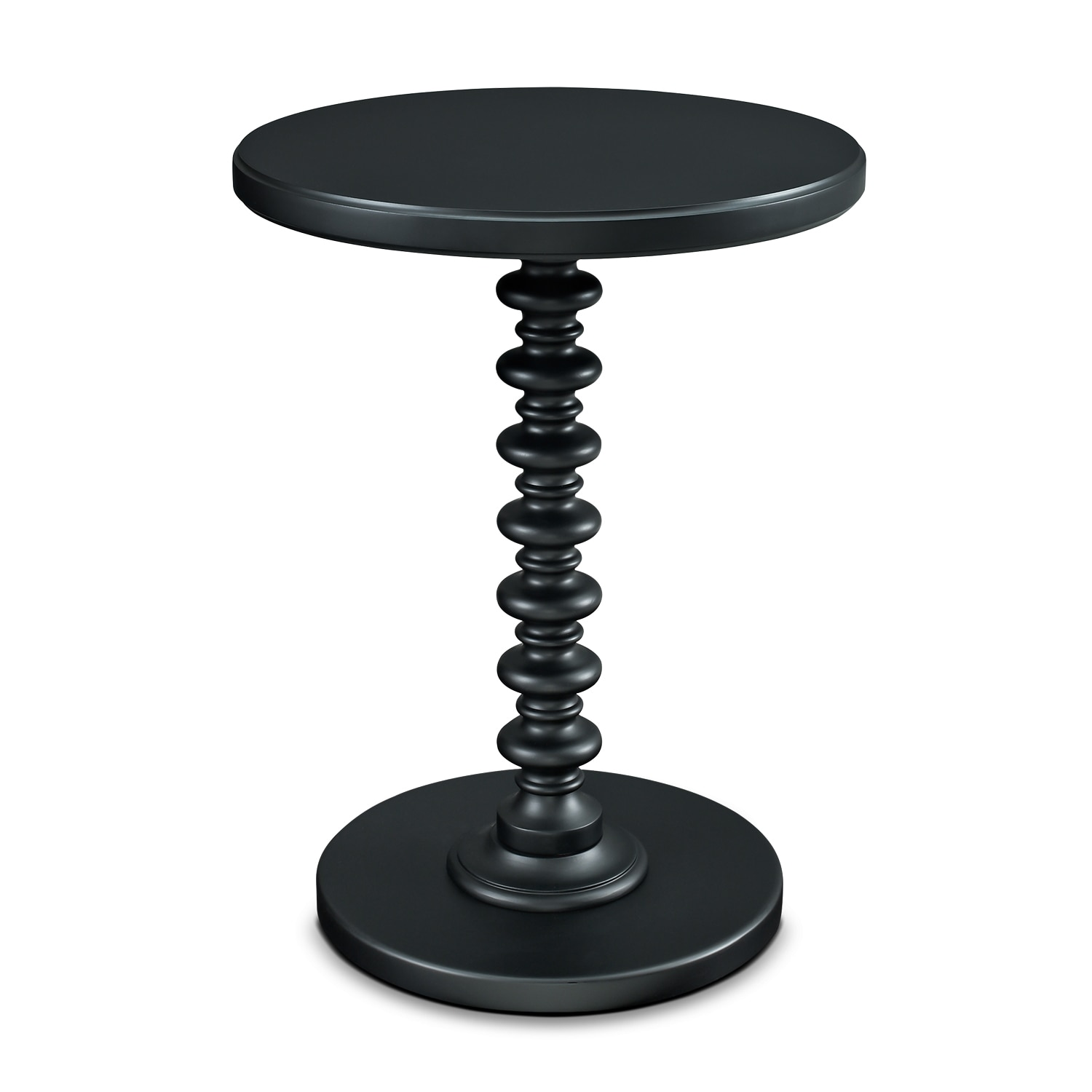 Accent and Occasional Furniture - Kobi Accent Table - Black