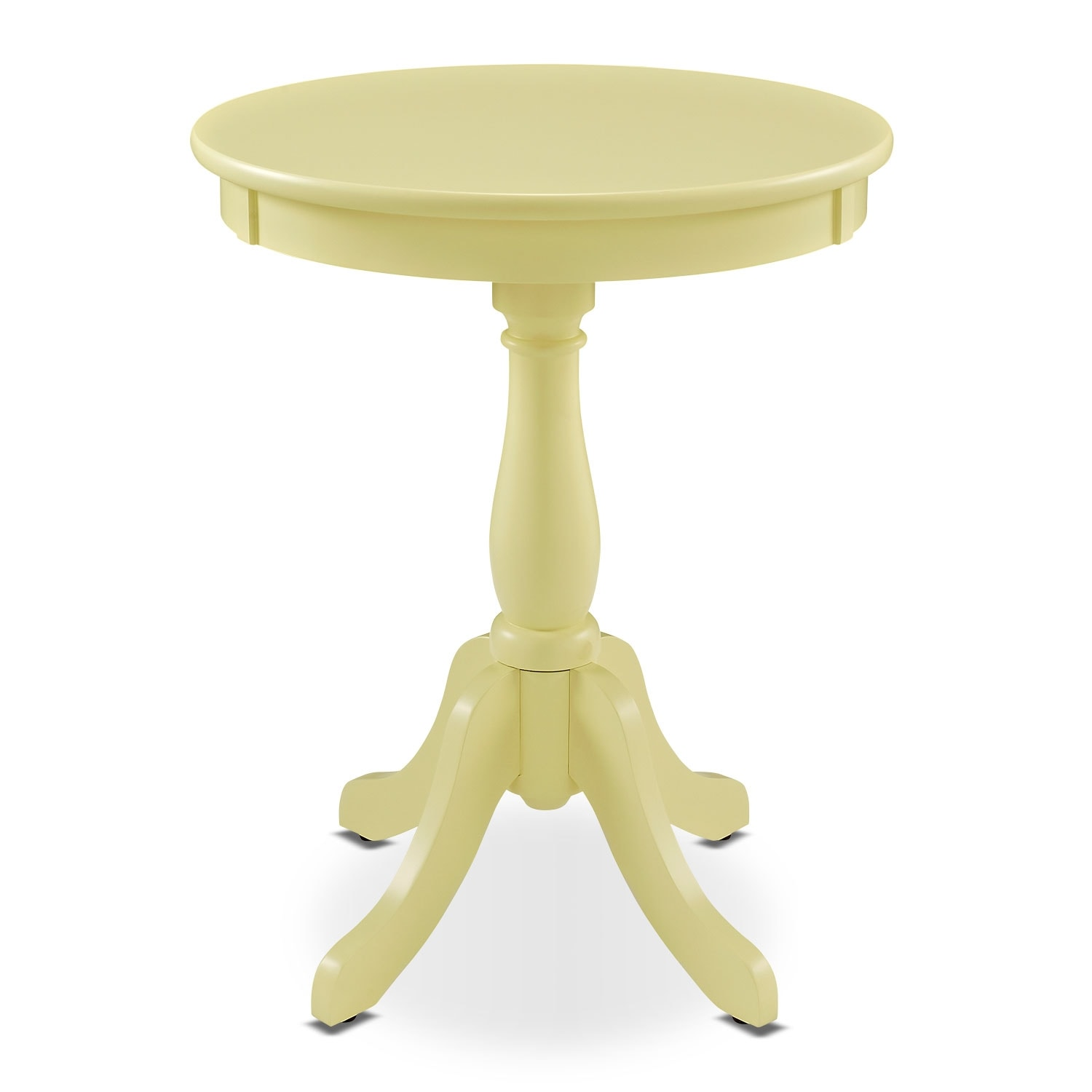 Aron Side Table - Yellow