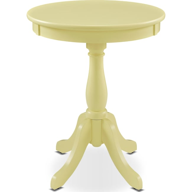 Accent and Occasional Furniture - Aron Side Table - Yellow