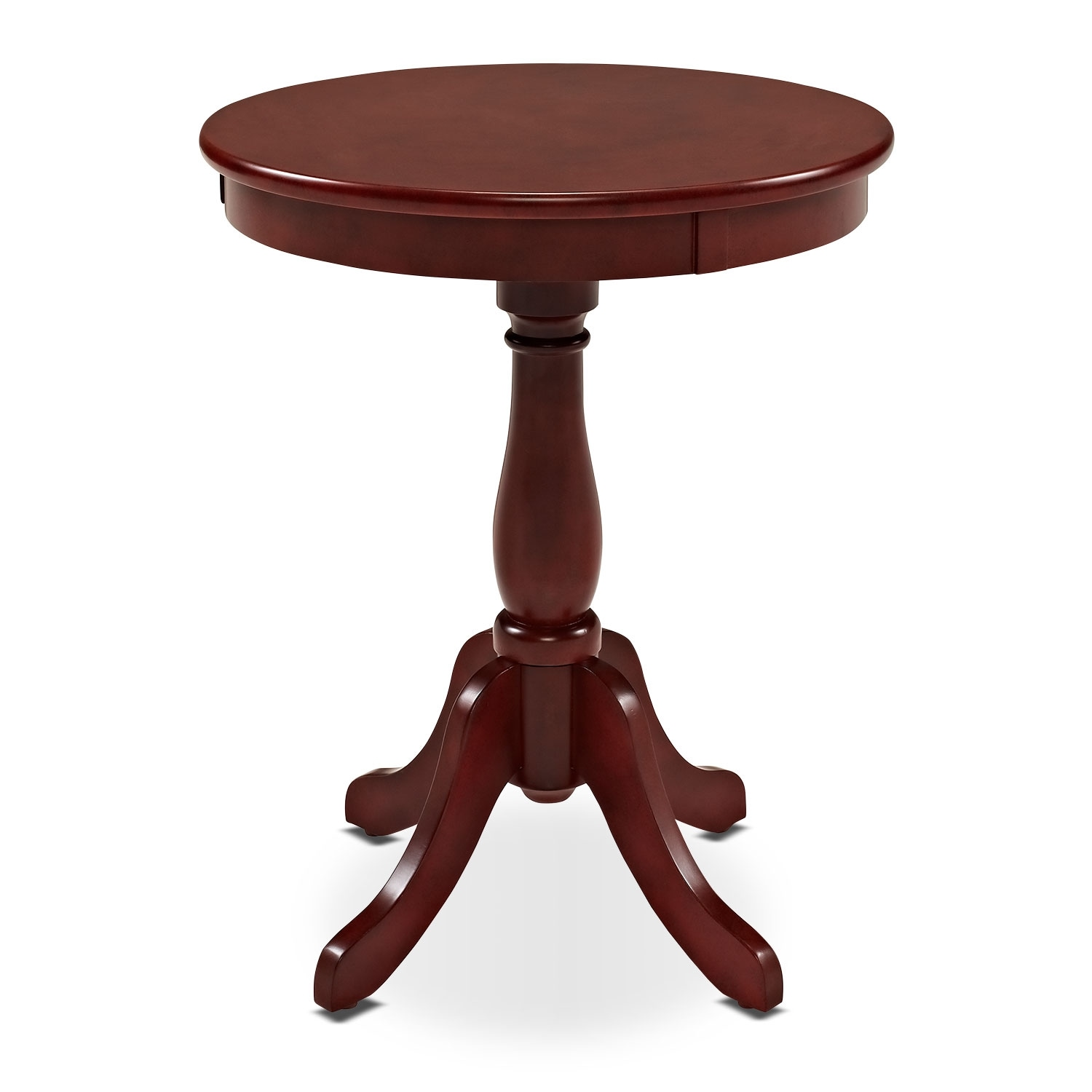 [Aron Side Table - Red]